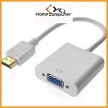 Cáp chuyển đổi HDMI ra VGA-AV. hdmi to vga có âm thanh hàng chất lượng.bảo hành 6 tháng - Home Computer