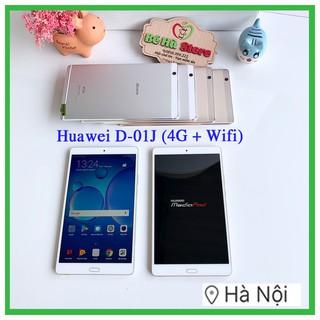Máy tính bảng Huawei Dtab D-01J /16Gb (Wifi + 4G) Đẹp Như Mới – Màn hình 2K/ ram 3G/ Vân tay/ LTE/ Loa Harman Kardon