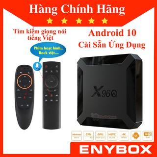 [Mã ELMS5 giảm 7% đơn 300K] Enybox X96Q Android 10 mới nhất RAM 2GB ROM 16GB Giá Rẻ Chất Lượng Tốt