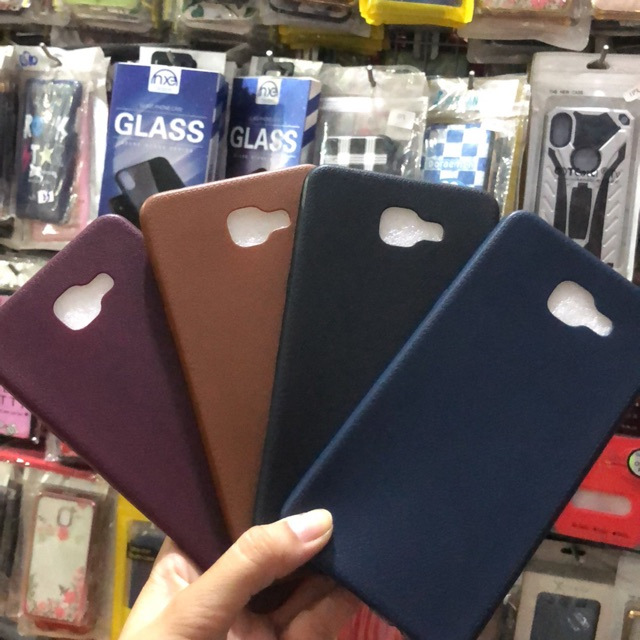 Samsung Galaxy A9 Pro ốp lưng giả da cực đẹp