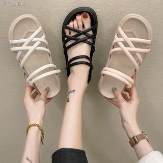 Giày Sandal Thể Thao Đế Mềm Dày Chống Trượt Thời Trang Nữ Năng Động 2021