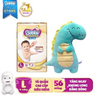 Hình ảnh [Nhập HAPPYBDAY -12% đơn 500K][Tặng khủng long bông] Tã quần cao cấp Bobby Extra Soft Dry S70/M64/L56/XL50/XXL46-1