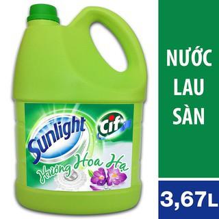 Nước lau sàn Sunlight Hương Hoa Hạ chai 3.8kg (MSP 67125178)