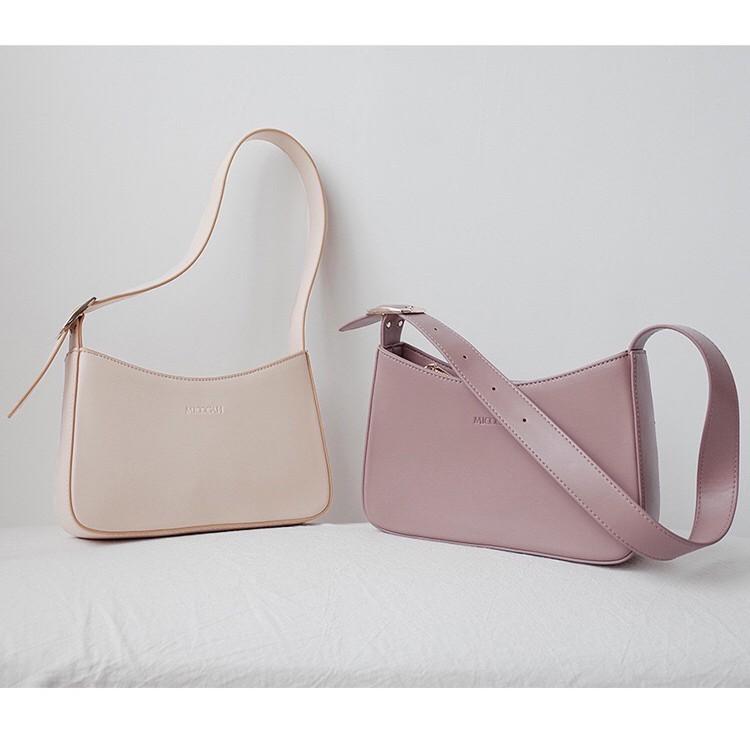 Túi xách nữ- Túi xách công sở nữ Micocah dáng basic đeo vai cực cá tính, Micocah đeo vai MSP: 277