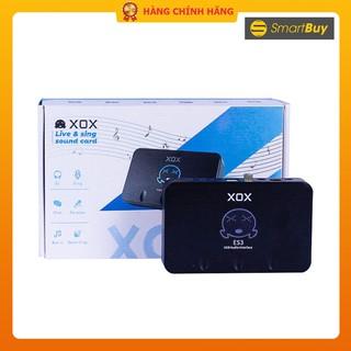 Sound card livestream cho máy tính XOX ES3 - Hàng chính hãng thumbnail