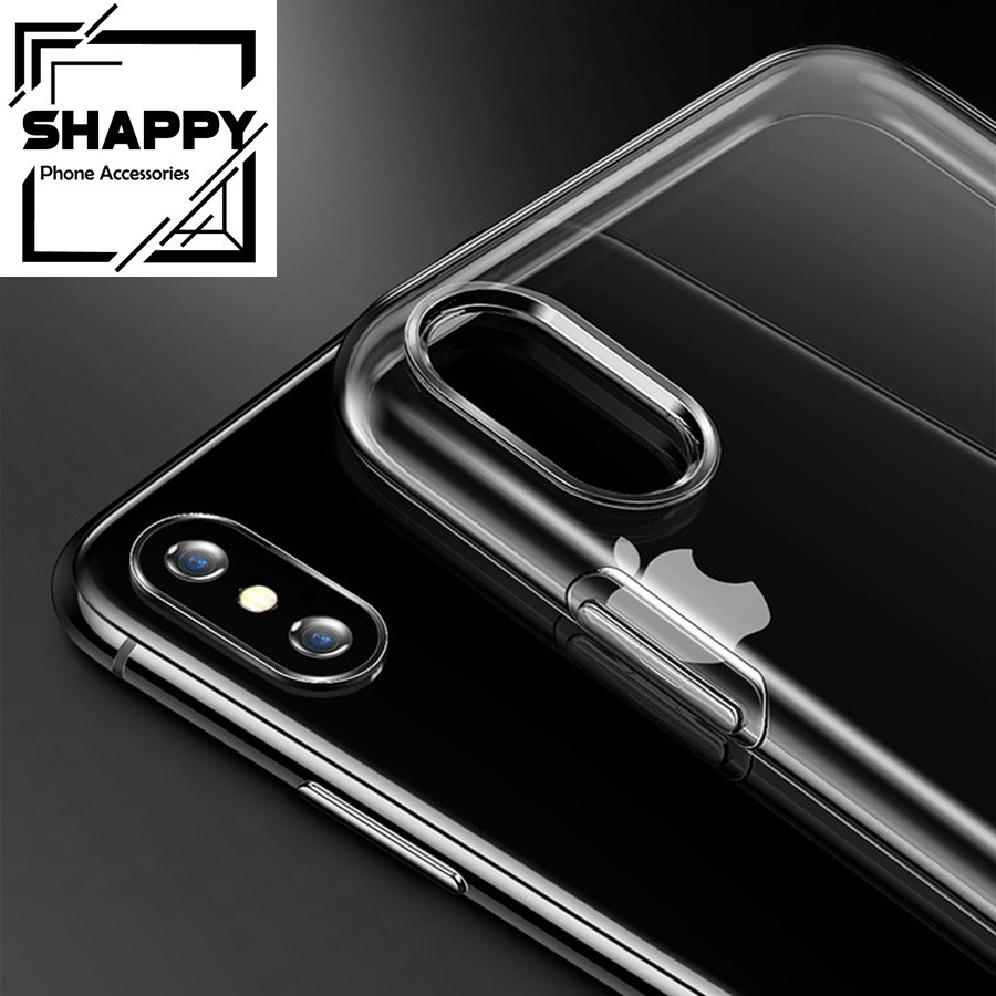 Ốp Iphone Silicon Loại Dày Trong Suốt [Shappy Shop]