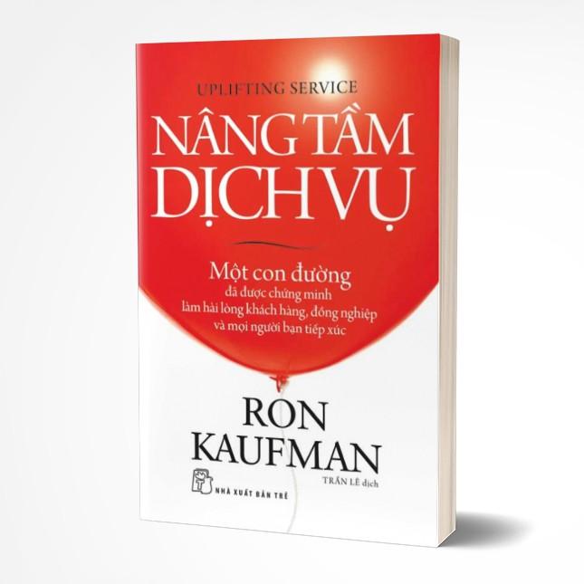 Sách: NÂNG TẦM DỊCH VỤ (Giá bìa: 125k)