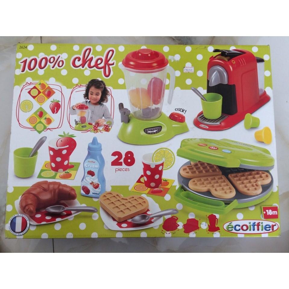 Đồ chơi nấu ăn Ecoiffier Đồ dùng cho gia đình nhỏ hấp dẫn dành cho bé gái