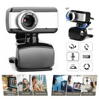 Webcam Usb 2.0 Full Hd Với Mic Cho Pc Laptop Notebook