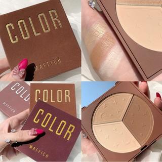 Phấn tạo khối 3 màu Maffick Color V-line Face Shading Powder 20g thumbnail