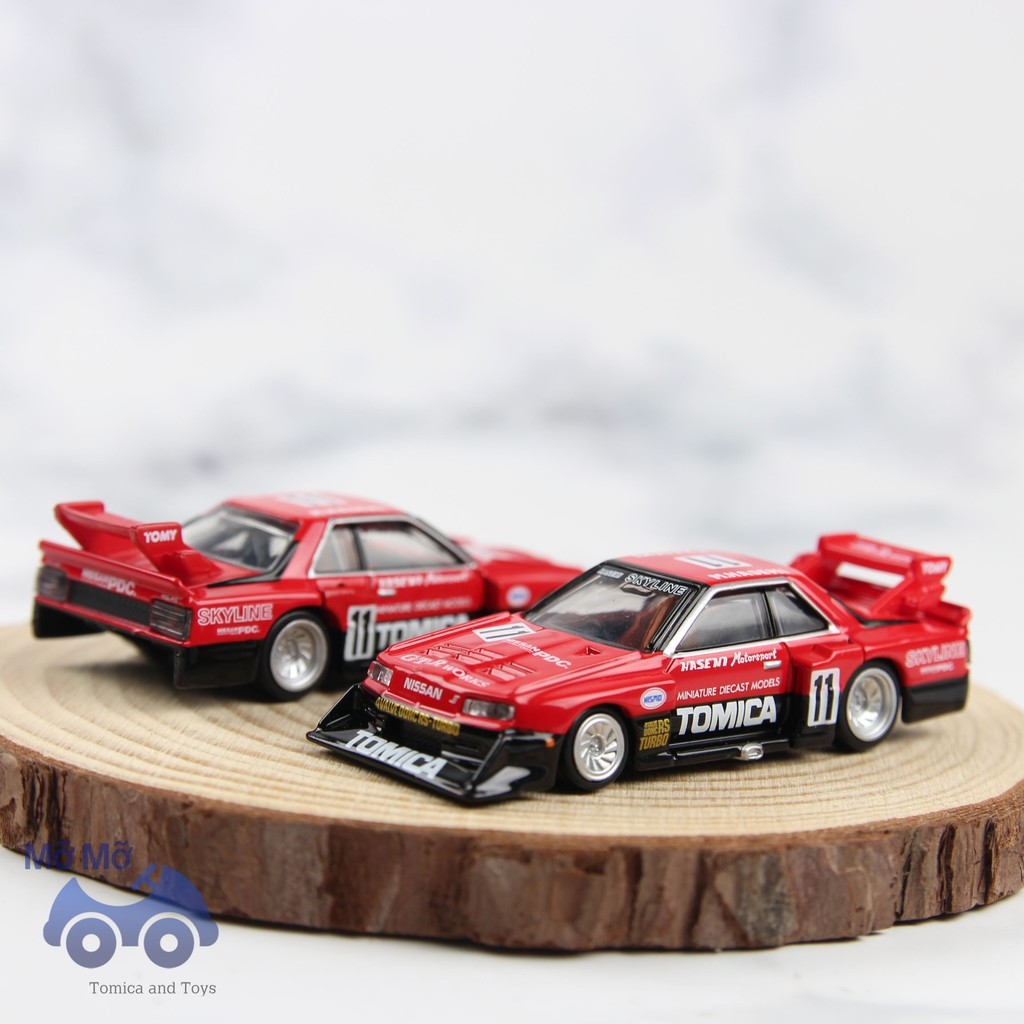 [Mã TOYNOV giảm 10% tối đa 15K đơn từ 50K] [Thanh lý] Xe mô hình Tomica Nissan skyline premium đỏ