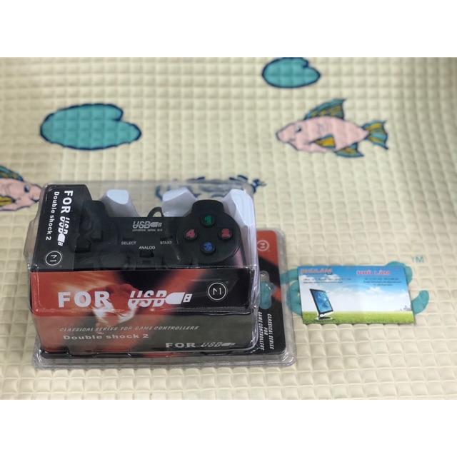 Tay cầm chơi game pc ew626b (gamepad)