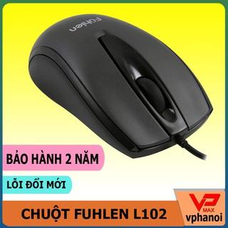 Yêu ThíchChuột máy tính HP M100 Fuhlen L102 / Warship GM100 / Fortech L122 M880 chơi game, văn phòng