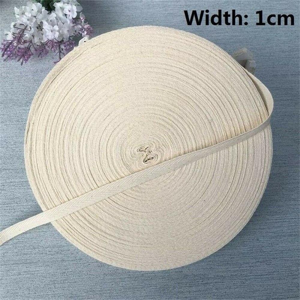 Cuộn Dây Cotton Rộng 1-5cm Rộng 50m
