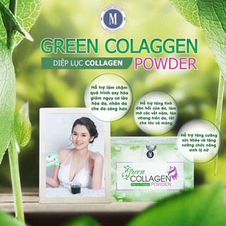 Diệp Lục Green Collagen Powder.