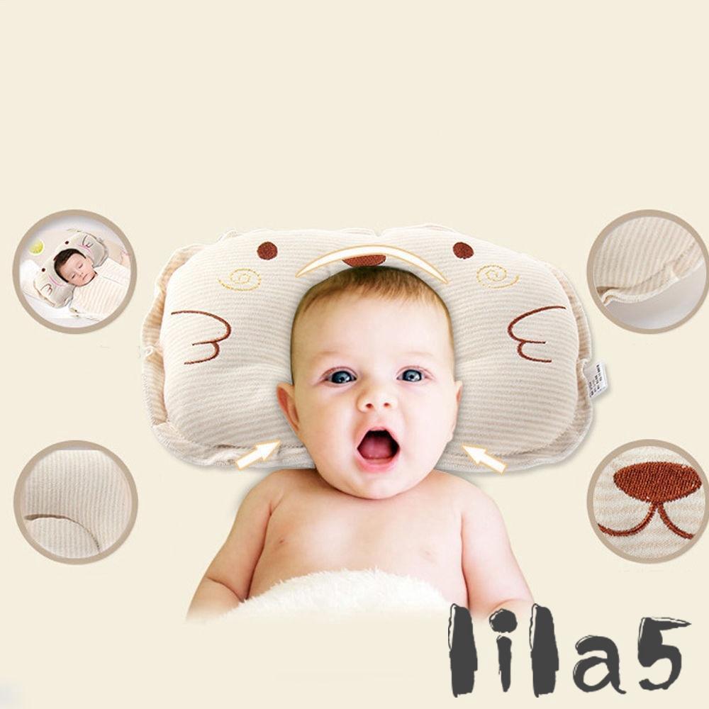 Gối ngủ định vị đầu chống lăn cho trẻ sơ sinh