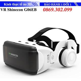 [Mã ELFLASH5 giảm 20K đơn 50K] Kính thực tế ảo xem phim 3D VR Shinecon G06EB