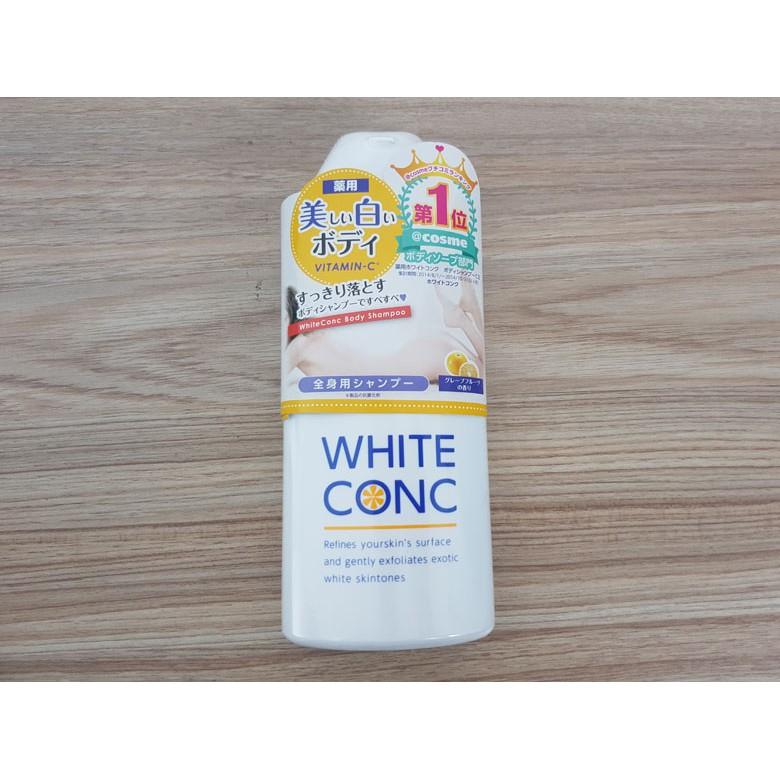 Sữa Tắm Trắng Da White Conc Body Chai 360ml