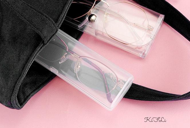 Hộp đựng bảo vệ mắt kính chất liệu nhựa PVC mềm
