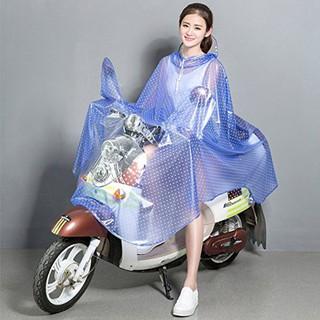 Áo mưa chấm bi cao cấp đi mưa đi xe máy