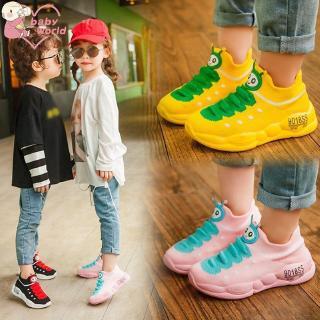 Giày thể thao họa tiết hoạt hình đáng yêu cho bé
