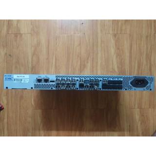 switch quang 24 cổng SFP . EMC DS-300B. Hàng tháo tủ viễn thông. Tặng kèm 16 sfp 8Gb