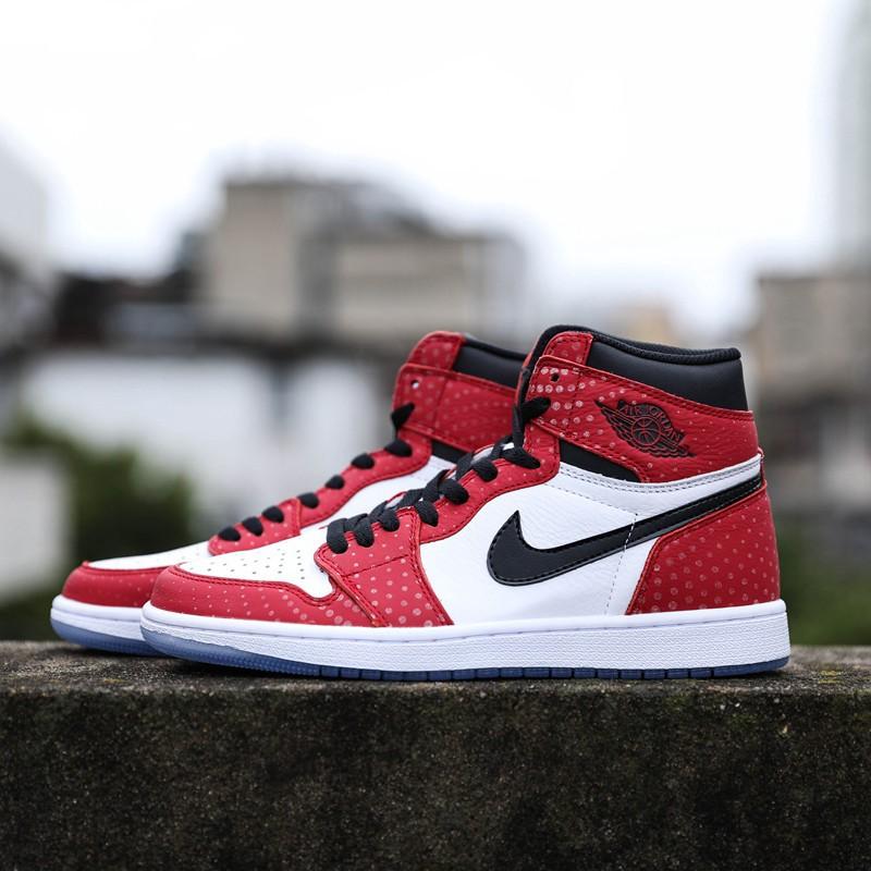 Nike Air Jordan 1 High OG origin Story Spiderman Spider Man