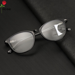 ROSE Readers Eyeglasses Presbyopia Glasses UV Protection Progressive Multifocal Reading Glasses Vision Care Men Women Vision Diopter Blue Light Blocking Computer Goggles