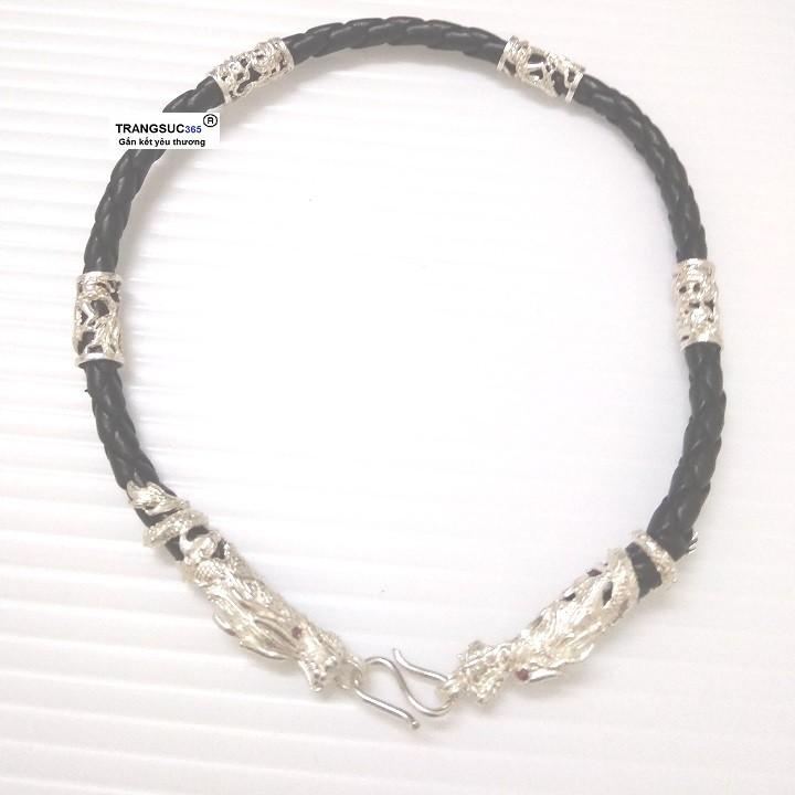 Lắc tay nam bạc ts365-la026, vòng tay nam bạc ts365-la026
