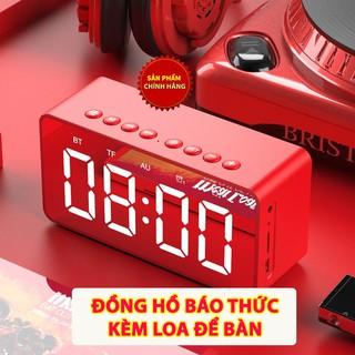 [Mã SRJULY1619 giảm 15K đơn 50K] [XẢ KHO] Đồng Hồ Báo Thức Để Bàn, Kiêm Loa Bluetooth Siêu Hay AEC BT506F thumbnail