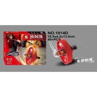 Con quay ninja đỏ