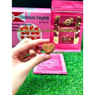 ❤️ Kẹo Socola giảm cân Đan Mạch Chokolade Vaegttab Slimming Care lẻ 10 viên ❤️