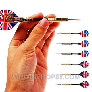 Bộ 8 mũi tên phi tiêu (4 lá cờ Mỹ, 4 lá cờ Anh) – Winz.vn