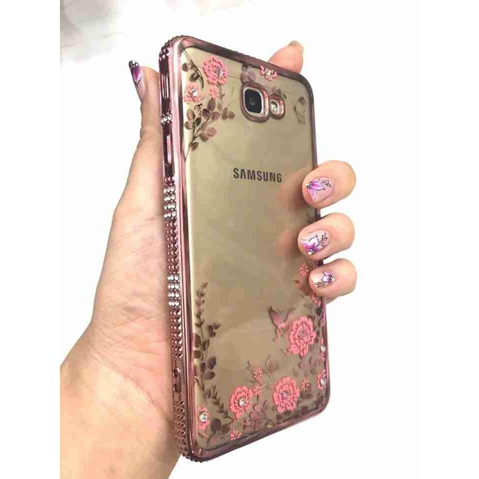 Ốp Samsung J7 Prime , Samsung A9 Pro Ốp Lưng Dẻo Hoa Văn Viền Si Đính Đá 3 Hàng - 2609091 , 1043989947 , 322_1043989947 , 45000 , Op-Samsung-J7-Prime-Samsung-A9-Pro-Op-Lung-Deo-Hoa-Van-Vien-Si-Dinh-Da-3-Hang-322_1043989947 , shopee.vn , Ốp Samsung J7 Prime , Samsung A9 Pro Ốp Lưng Dẻo Hoa Văn Viền Si Đính Đá 3 Hàng