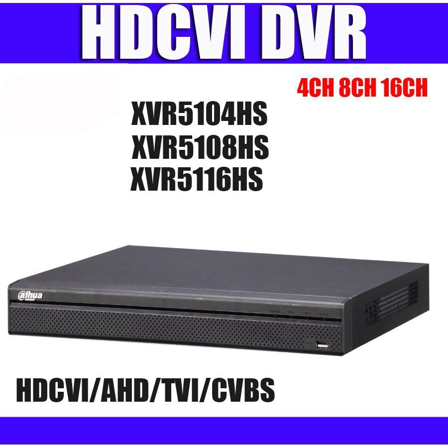 Đầu ghi camera XVR Dahua 4 kênh 5104HS-X, 8 kênh 5108HS-X, 16 kênh 5116HS-X