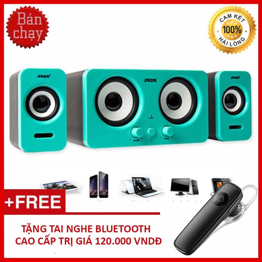 Bộ Loa Máy Tính Để Bàn SADA D-220 + Tặng Tai Nghe Bluetooth Cao Cấp - 3369179 , 1178337074 , 322_1178337074 , 660000 , Bo-Loa-May-Tinh-De-Ban-SADA-D-220-Tang-Tai-Nghe-Bluetooth-Cao-Cap-322_1178337074 , shopee.vn , Bộ Loa Máy Tính Để Bàn SADA D-220 + Tặng Tai Nghe Bluetooth Cao Cấp