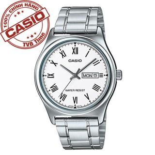 Đồng hồ nam dây kim loại Casio Standard chính hãng Anh Khuê MTP-V006D-7BUDF
