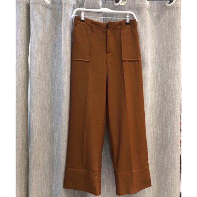 Quần cuff pants túi hộp Q484 (S M)