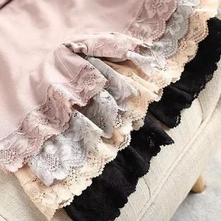 đồ lót nữ mặc nhà mùa hè liền mạch cotton ren chống chói Quần an toàn hai trong một đồ lót nữ mặc thoải mái size lớn củ thumbnail