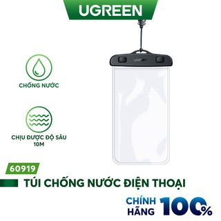 Túi đựng điện thoại UGREEN 60959 50919 chống nước tiêu chuẩn IPX8 độ sâu 10m