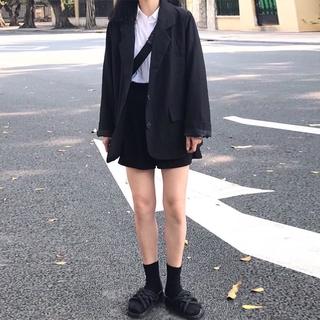 Áo Khoác Vest Dáng Rộng Thời Trang Mùa Thu Hàn Quốc 2020 Cho Nữ