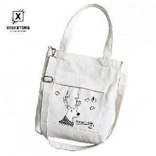 Túi Vải Tote XinhStore Hình Hưu