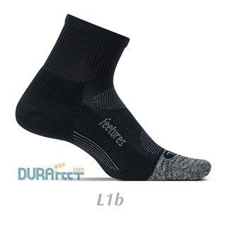 Tất siêu bền cổ lửng Feetures mã L1b - Vớ xuất Mỹ kháng khuẩn thumbnail