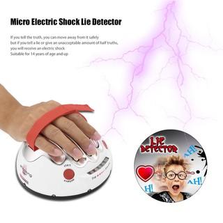 TMR Polygraph Shocking Liar Micro Electric Shock Lie Detector Truth Game Toy