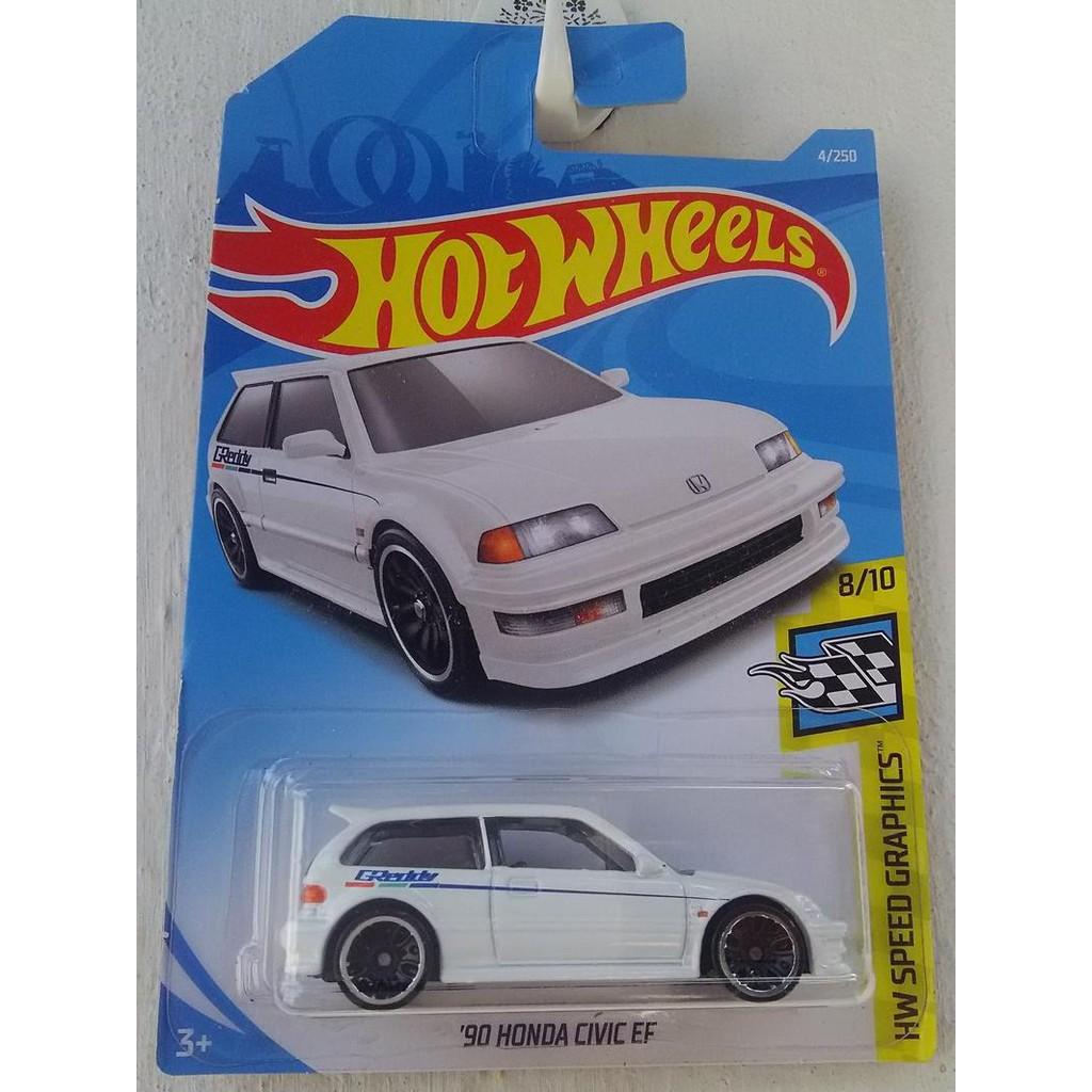 Xe mô hình Hot Wheels '90 Honda Civic EF FYC51