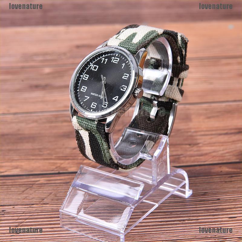 Chân đế bằng nhựa trong suốt trưng bày đồng hồ