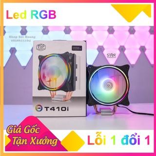 Quạt tản nhiệt PC, tản nhiệt CPU, tản khí T410i led RGB cooler master chính hãng size 12cm - Shop Sói Hoang thumbnail