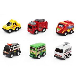 Bộ túi 6 ô tô đồ chơi mini cho bé