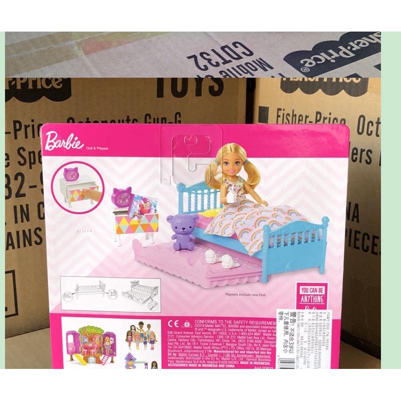 Bộ đồ chơi búp bê Barbie độc đáo đáng yêu cho bé