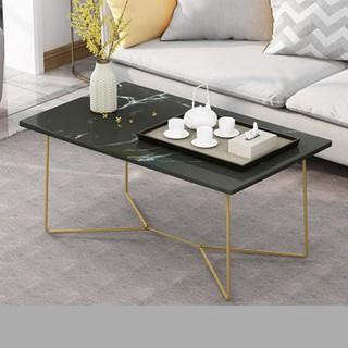 Bàn sofa phòng khách❤FREE SHIP❤ Bàn trà , bàn cafe mặt gỗ họa tiết vân đá, chân sắt đẹp, nội thất phòng khách